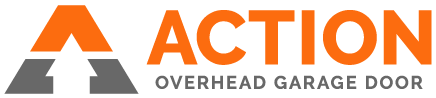 Action Overhead Garage Door Logo